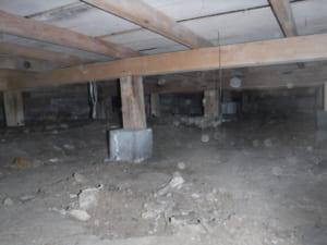 太宰府市A邸のシロアリ駆除の調査写真