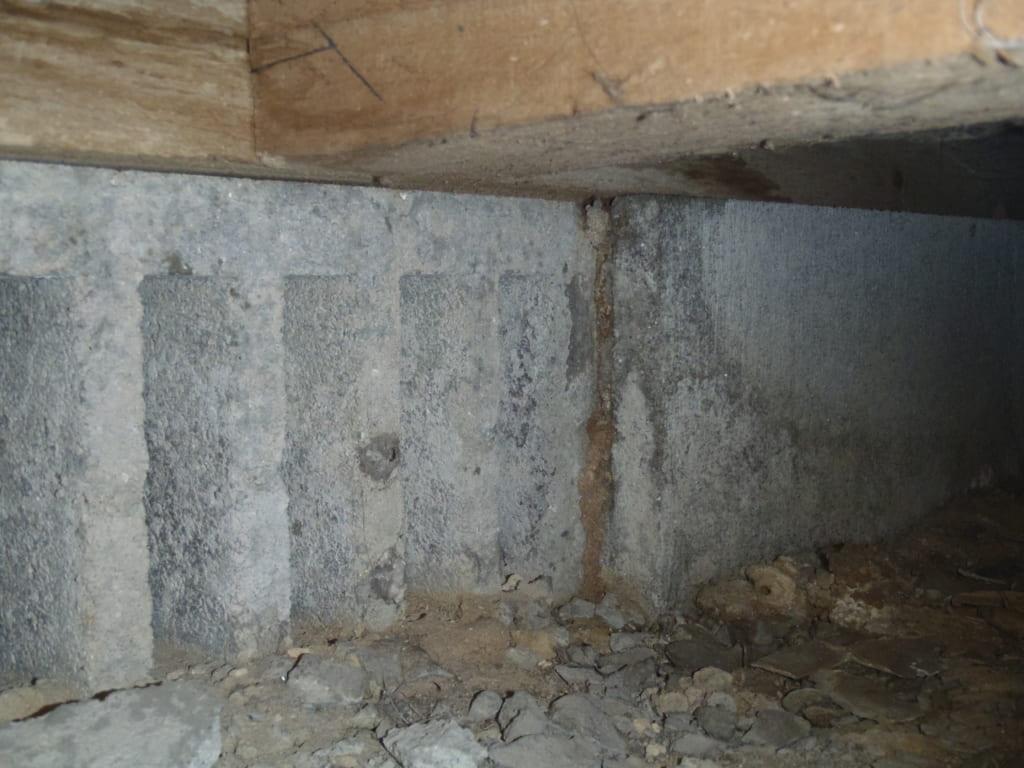 福岡県久留米市H邸のシロアリ駆除の写真